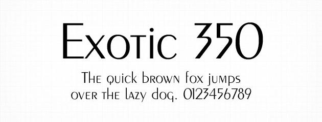Exotic 350