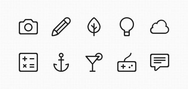 Buddha Line Icons