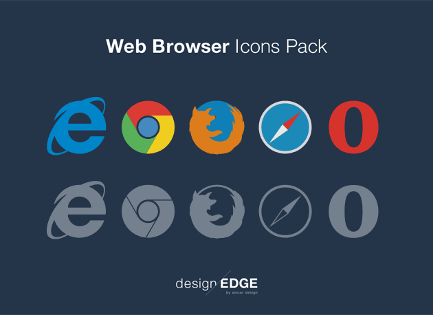 Web Browser Icons Pack