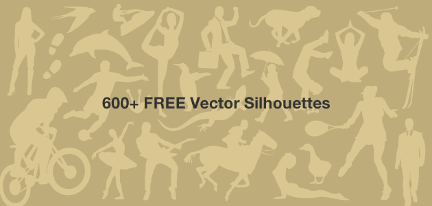 600+ Free Vector Silhouettes