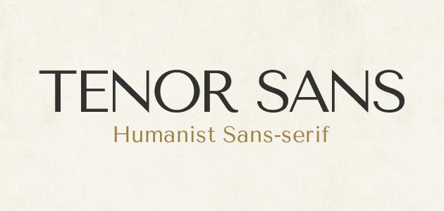 Tenor Sans