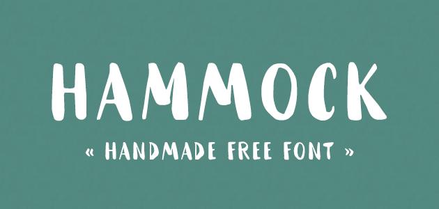 Hammock : Handmade Font